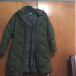 Brand new north face parka.